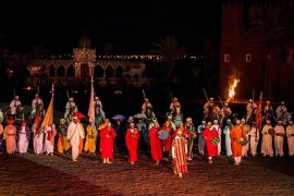 restaurant spectacle marrakech